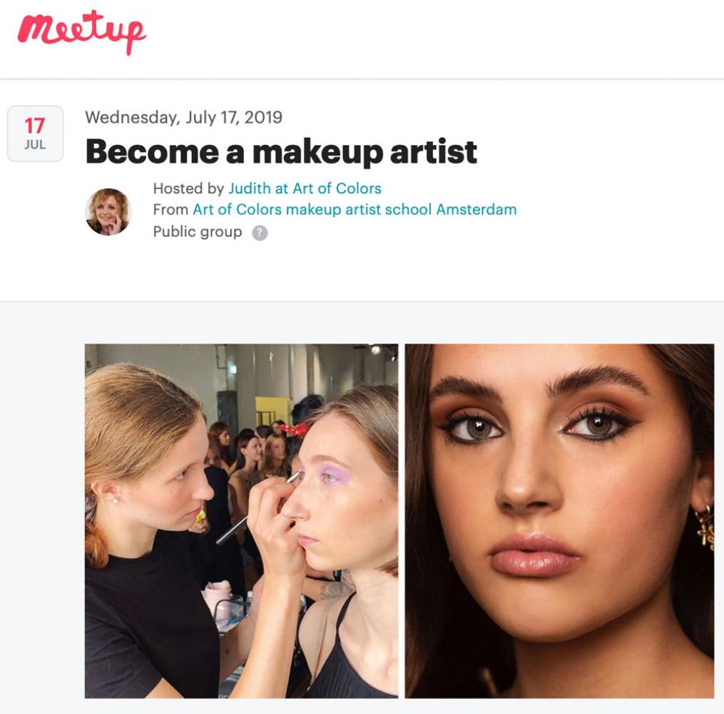 MEETUP Event: Become a makeup artist