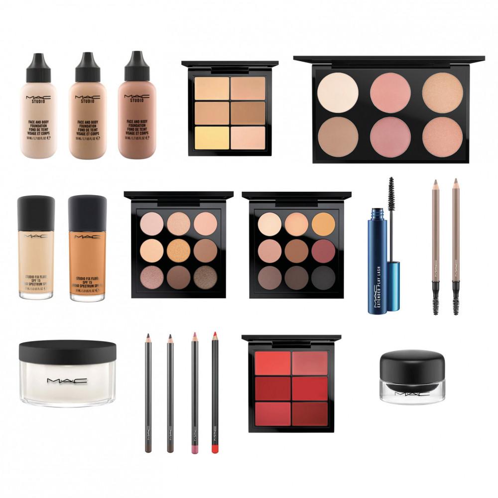 MAC Cosmetics Make-up Set + ZUCA Backpack